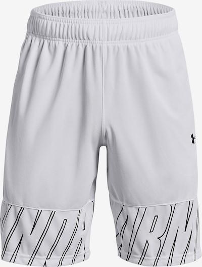 UNDER ARMOUR Sportbroek 'Baseline' in de kleur Zwart / Wit, Productweergave