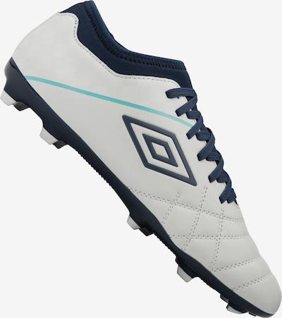 UMBRO Fußballschuh in nachtblau / weiß: Frontalansicht