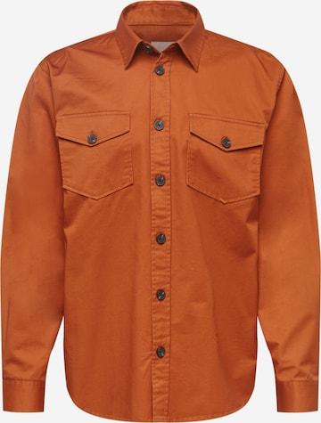 minimum Hemd 'TOBI' in Orange