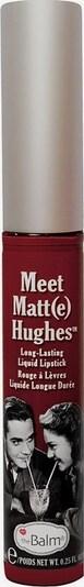 The Balm Lip Gloss 'MeetMatteHughes' in Dark red, Item view