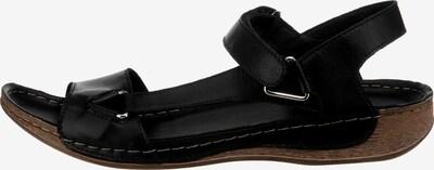 ANDREA CONTI Sandale in braun / schwarz, Produktansicht