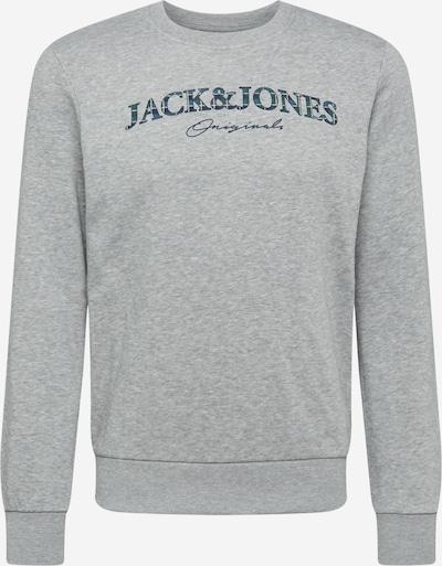 JACK & JONES Collegepaita 'MINISTRY' värissä laivastonsininen / taivaansininen / vaaleanharmaa, Tuotenäkymä