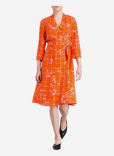 Someday Kleid in orange, Modelansicht