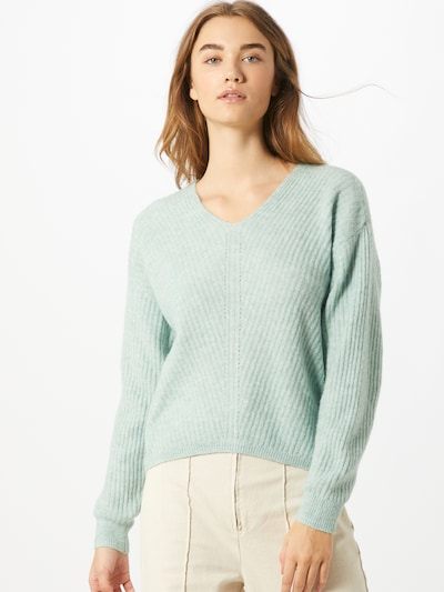 PIECES Pullover 'Sunny' in mint, Modelansicht