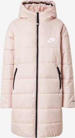 Parka de iarnă de la Nike Sportswear pe roz
