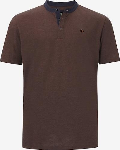 Charles Colby Shirt ' Earl Derek ' in de kleur Bruin gemêleerd, Productweergave