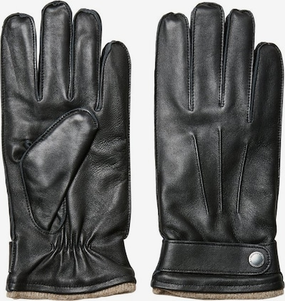 SELECTED HOMME Vingerhandschoenen in de kleur Zwart, Productweergave