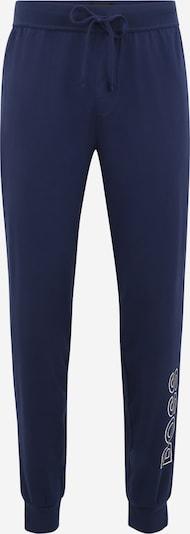 Pantaloni de pijama BOSS Casual pe albastru noapte / alb, Vizualizare produs