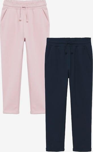 Pantaloni 'Vienapk' MANGO KIDS pe bleumarin / roz, Vizualizare produs