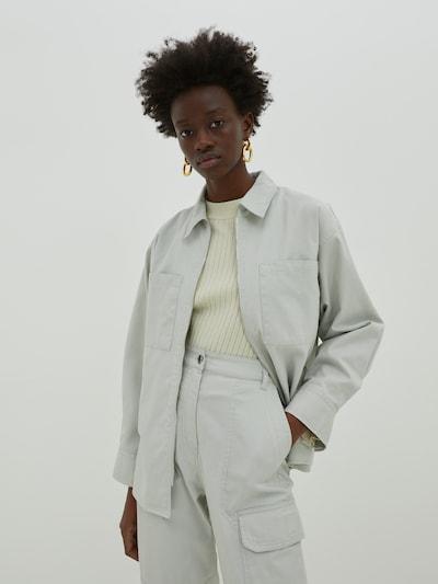 EDITED Блуза 'Camille' в сиво, Преглед на модела