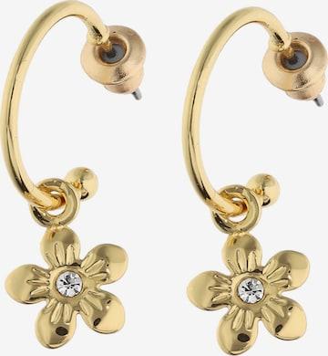 Boucles d'oreilles Six en or
