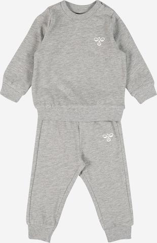 Hummel Trainingsanzug 'SANTO' in Grau