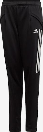 ADIDAS PERFORMANCE Hose in schwarz / weiß, Produktansicht