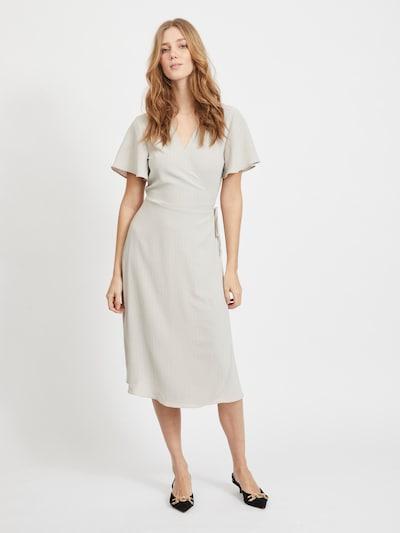 VILA Kleid in hellgrau, Modelansicht
