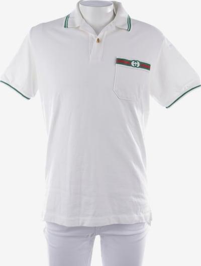 Gucci Poloshirt in XS in grün / weiß, Produktansicht