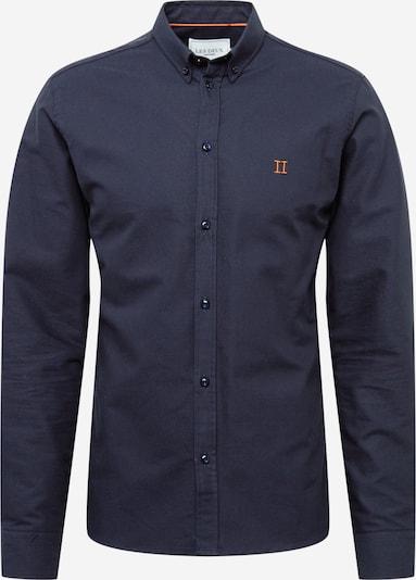Les Deux Chemise en bleu marine / orange, Vue avec produit