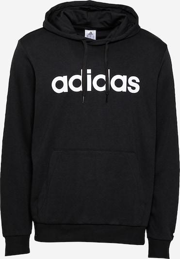 ADIDAS PERFORMANCE Sports sweatshirt in Black / White, Item view