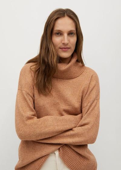 MANGO Pullover 'Polar' in dunkelbeige, Modelansicht