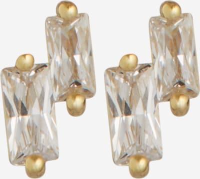 ANIA HAIE Boucles d'oreilles en or / transparent, Vue avec produit