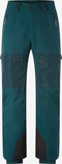 O'NEILL Pantalon outdoor en gris / émeraude, Vue avec produit