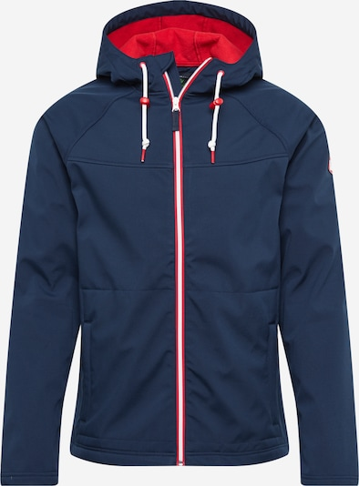 Derbe Jacke in navy / rot, Produktansicht