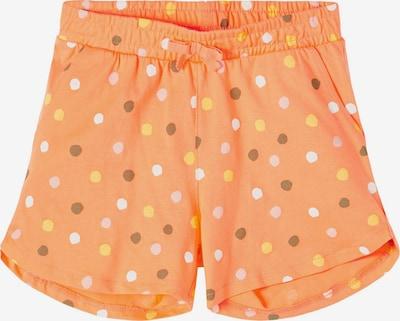 NAME IT Broek 'Vigga' in de kleur Gemengde kleuren / Sinaasappel, Productweergave
