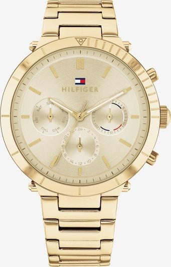 TOMMY HILFIGER Zegarek analogowy w kolorze ciemny niebieski / złoty / czerwony / białym, Podgląd produktu