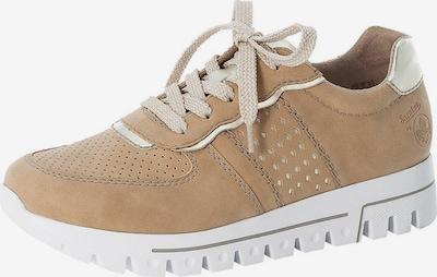 RIEKER Sneaker in hellbraun, Produktansicht