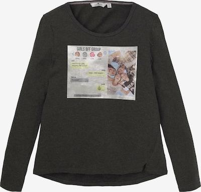 TOM TAILOR Shirt in dunkelgrau, Produktansicht