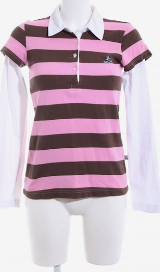 OCK Polo-Shirt in S in bronze / pink / weiß, Produktansicht