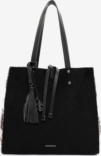 Emily & Noah Shopper 'Denise' in rot / schwarz / weiß, Produktansicht