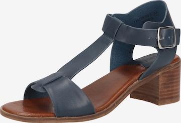 KICKERS Sandale in Blau