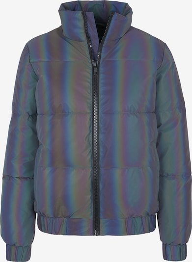 Urban Classics Jacke 'Iridescent Reflectiv Puffer Jacket ' in silber, Produktansicht