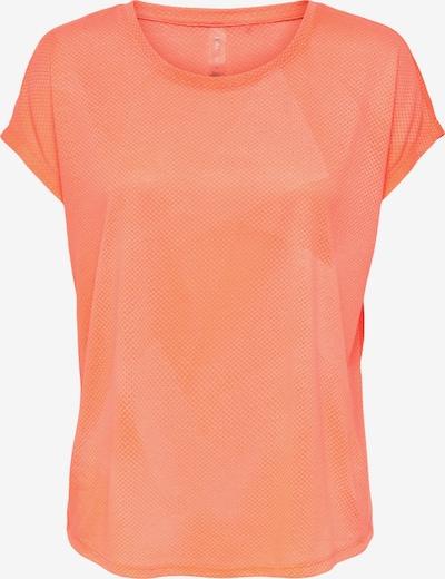ONLY PLAY T-shirt fonctionnel 'Fan' en orange pastel, Vue avec produit