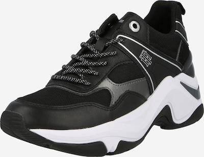 Sneaker bassa TOMMY HILFIGER di colore nero / argento, Visualizzazione prodotti