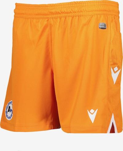 MACRON Shorts in orange, Produktansicht