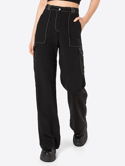 Trendyol Damen - Hosen 'Pants' in schwarz, Modelansicht