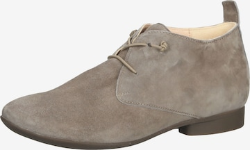 THINK! Lace-Up Shoes in Beige