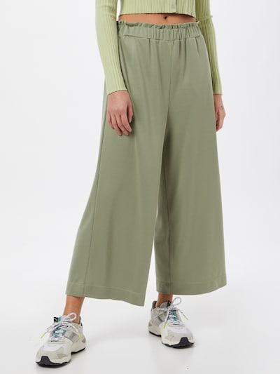 ESPRIT Pantalon en vert clair, Vue avec modèle