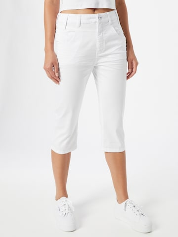 Q/S by s.Oliver Pants 'Catie' in White