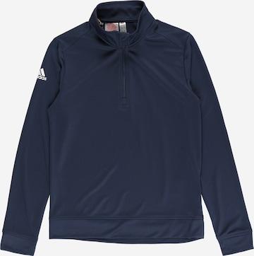 adidas Golf Spordidressipluusid, värv sinine