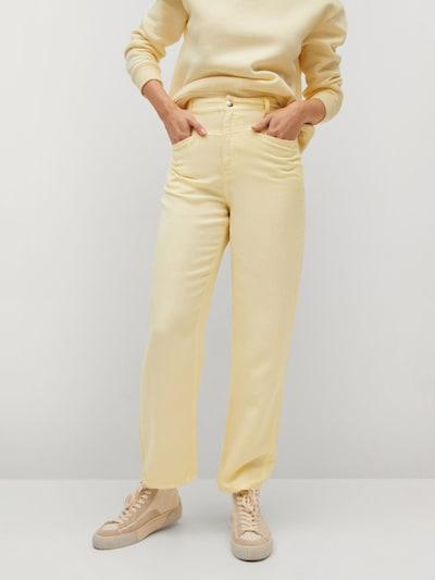 sárga MANGO Nadrág 'SKY', Modell nézet