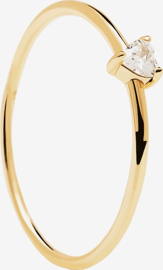 P D PAOLA Anillo 'White Heart' en oro, Vista del producto