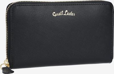 Gusti Leder Portemonnee 'Thala' in de kleur Zwart, Productweergave