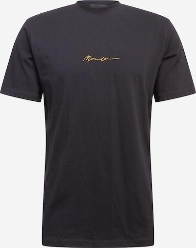 Mennace T-Shirt in goldgelb / schwarz, Produktansicht