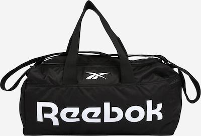 REEBOK Sac de sport en noir / blanc, Vue avec produit