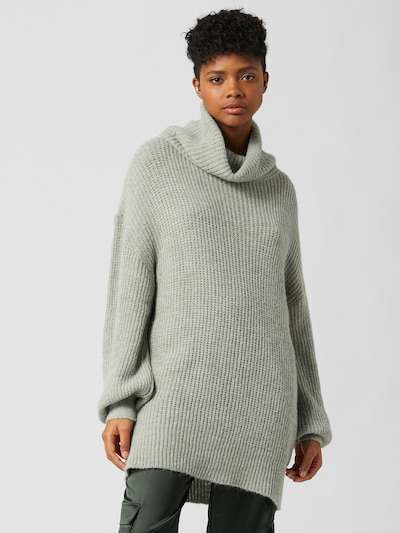 LeGer by Lena Gercke Oversize sveter 'Juna' - sivobéžová, Model/-ka