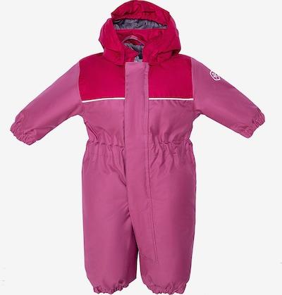 COLOR KIDS Schneeanzug in lila / beere: Frontalansicht