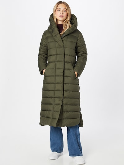 Didriksons Winter Coat 'STELLA' in Olive, View model