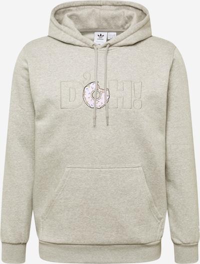 ADIDAS ORIGINALS Sweat-shirt en gris chiné / mélange de couleurs, Vue avec produit